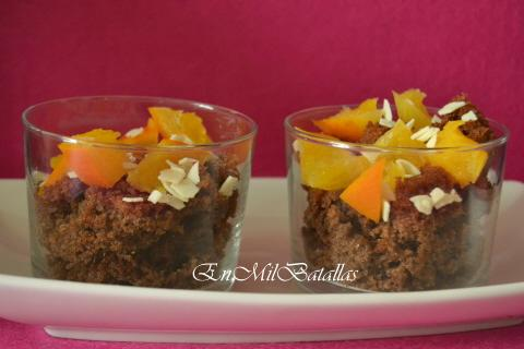 Duo chocolate y naranja
